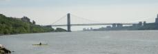 view of GW bridge