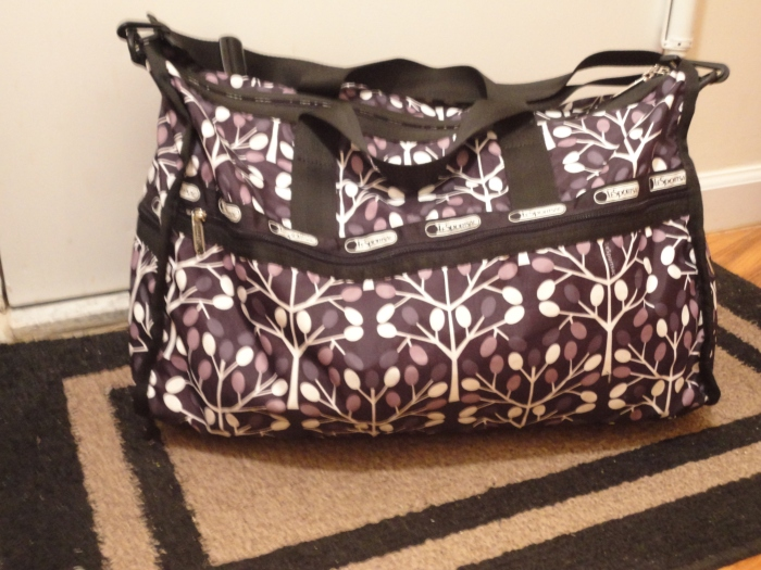 everything fits in this bag, oh my!