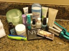 a few beauty essentials
