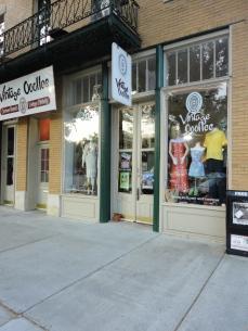 vintage boutique store front