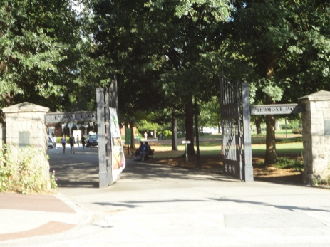 piedmont park entrance