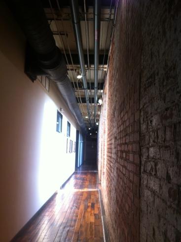 enterprise mill - hallway