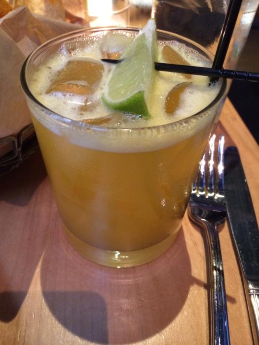 passion fruit margarita!