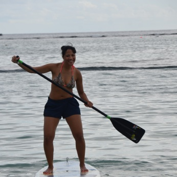 hhv - paddle board - i didn't fall
