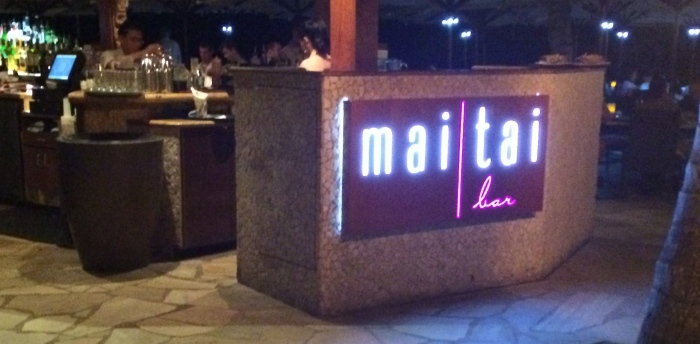 mai tai bar @ the royal hawaiian