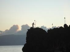sheraton cliff dive ceremony