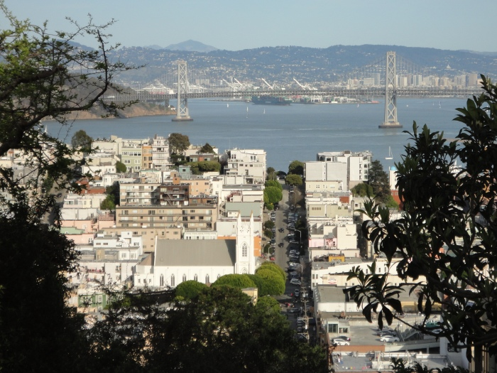 view of the bay bridge from russian hill  photo credit: passportsandvisa