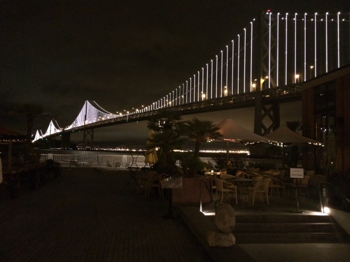 view of bay bridge