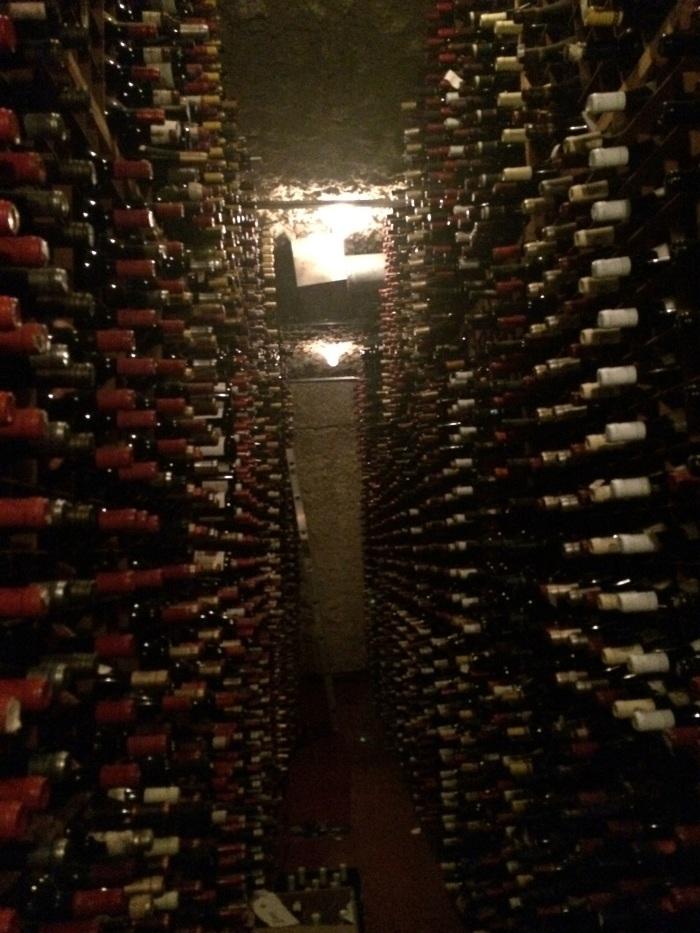 bern's steakhouse wine cellar