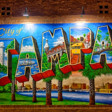 Good coffee shop ybor city passports visa for City of tampa mural