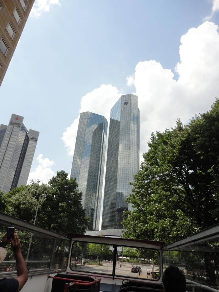 frankfurt germany - twin tower