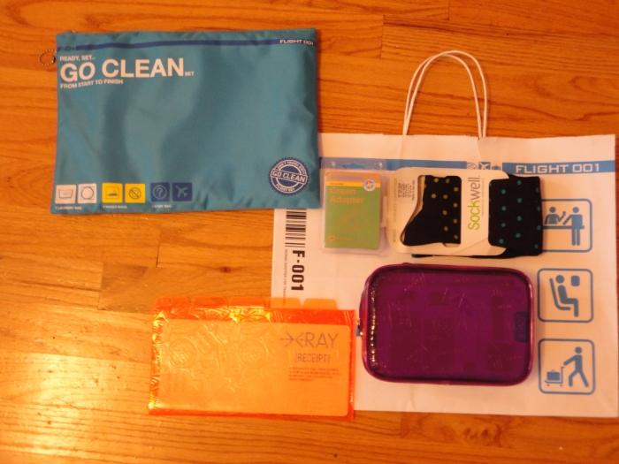 essentials to get me through a trip...