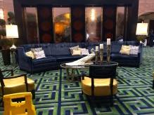 sheraton sociey hill lobby - love this couch!