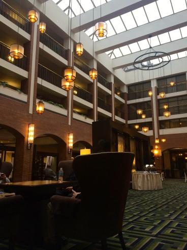 sheraton society hill lobby