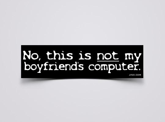jinx women in tech decal