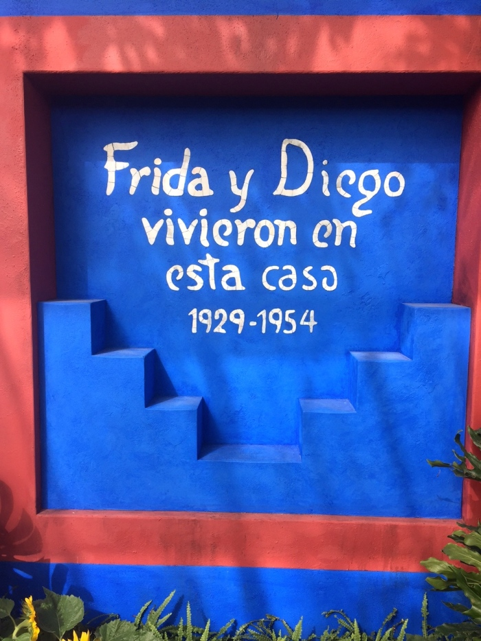 frida kahlo exhibit art, garden life