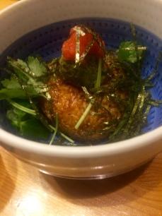 kagari - garlic rice ball