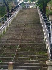 steps to shrine